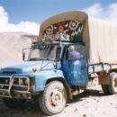 Typical Tibetan truck