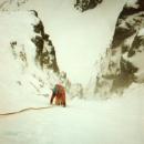 Scotland ice climbing, 1990