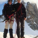 Climbing with Bliss in Chamonix