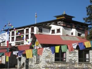 The famous Tengboche monastery